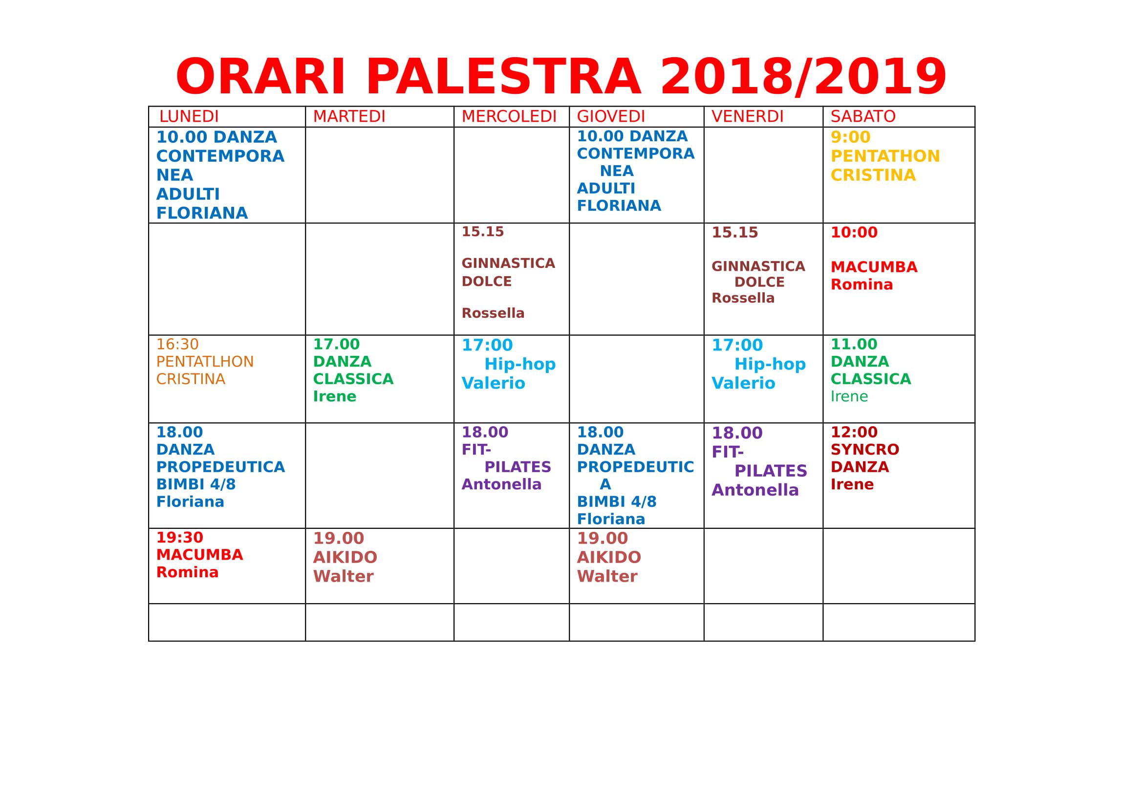orari palestra 2018-1